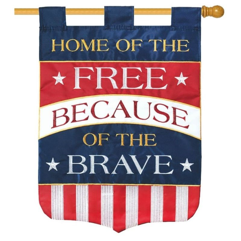 Home of the Free House Flag